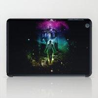 time traveller v2 iPad Case