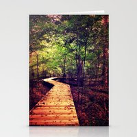 Don't Stop Walking Stationery Cards