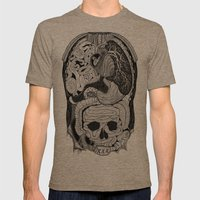 Gross Anatomy Mens Fitted Tee Tri-Coffee SMALL