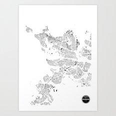 REIKJAVIK Art Print