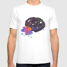Cosmic Chip Cookie  Mens Fitted Tee White SMALL