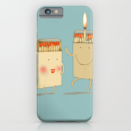 Light my match iPhone & iPod Case