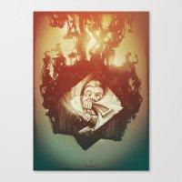Claustrophobia I Canvas Print