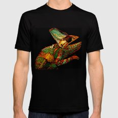 KARMA CHAMELEON SMALL Black Mens Fitted Tee