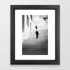 Climbing Higher Framed Art Print