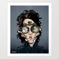 Ichabod Art Print