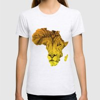 King Of The Jungle! Womens Fitted Tee Ash Grey SMALL
