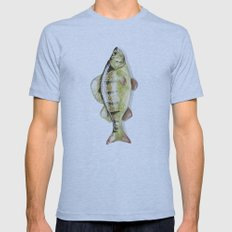 European Perch Mens Fitted Tee Athletic Blue SMALL