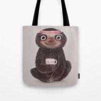 Sloth I♥yoga Tote Bag