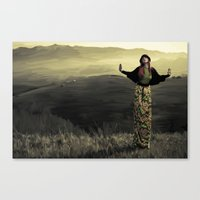 Dea altitudines Canvas Print