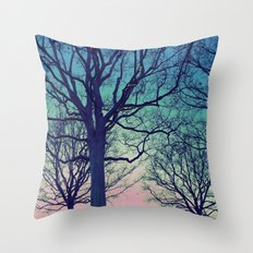 dreaming of trees Throw Pillow