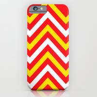 Chevron Sun Blast iPhone 6 Slim Case