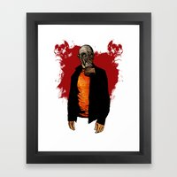 The Haunted Hunter Framed Art Print