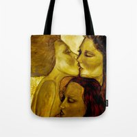 The Lovers Tote Bag