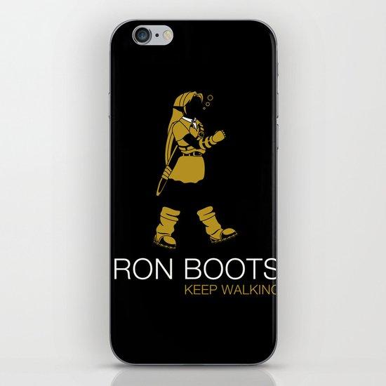 Iron Boots iPhone & iPod Skin