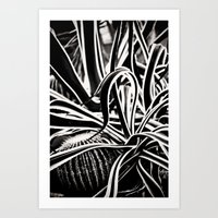 Jaggered Art Print