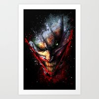 Madness is the Emergency Exit Art Print