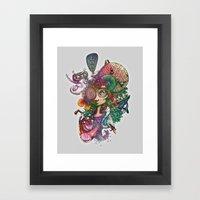 Designing Life Framed Art Print
