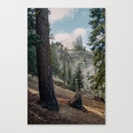Canvas Print featuring Half Dome by Kevin Russ