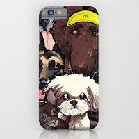 iPhone & iPod Case featuring Dogs. by BinaryGod.com