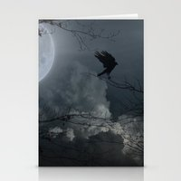 There's A Moon Out Tonight Stationery Cards