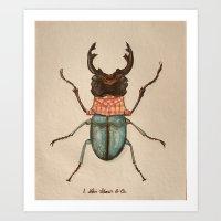 Urban Bug #1 Art Print