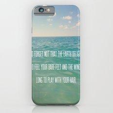 Oceanic Inspiration Slim Case iPhone 6s