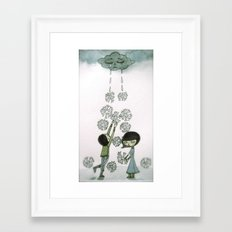 little secret Framed Art Print
