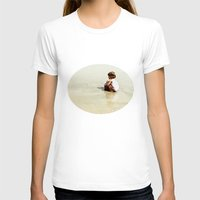Found In The Sea Womens Fitted Tee White SMALL