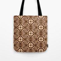 Leopard Kaleidoscope Wil… Tote Bag