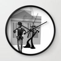 Tattered Wall Clock
