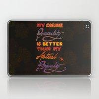 Online Personality Laptop & iPad Skin