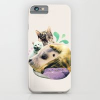 Furry On The Meowsea iPhone 6 Slim Case