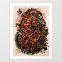 Lionnnn Art Print