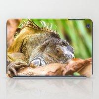 Chameleons master of disguise iPad Case