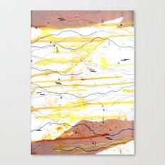 Mood Study (II) - Sunday Morning Canvas Print