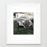 Framed Art Print featuring Reclaimed by Amy Taylor