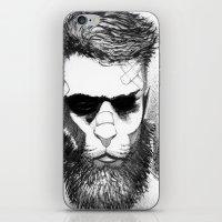 Lion Man iPhone & iPod Skin