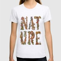 Nature Womens Fitted Tee Ash Grey SMALL