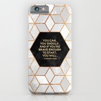 If you're brave enough / Design Milk Collab. iPhone 6 Slim Case