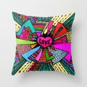 Power of Love...2 Throw Pillow