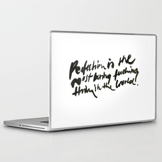 boring. Laptop & iPad Skin