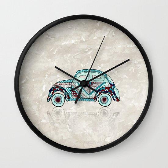 VosVos in Wonderland Wall Clock