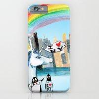 Unicorn Penguin Love NYC iPhone 6 Slim Case
