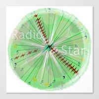 Radio Star Canvas Print