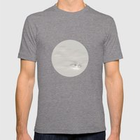 alone Mens Fitted Tee Tri-Grey SMALL