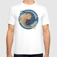 Shuiwudáo Yin Yang Mand… Mens Fitted Tee White SMALL