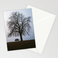 That night we sat together under a tree Stationery Cards