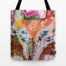 Summer Wolf Tote Bag