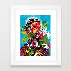 Human nature 02 Framed Art Print